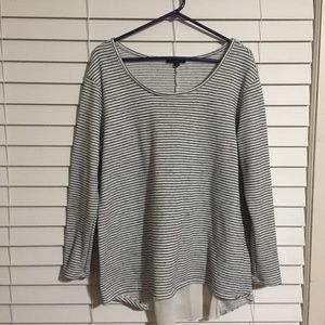 Lane Bryant Long Sleeve Blouse